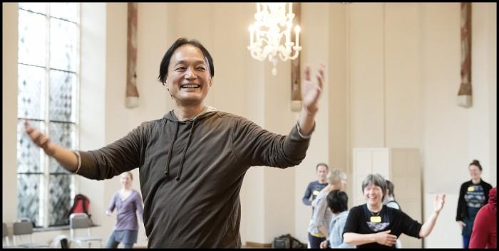 Masahiro teaching